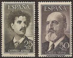 España 1164/1165 * Fortuny Y Torres Q. 1955. Charnela - 1951-60 Nuevos & Fijasellos