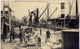 Anvers - Chargement De Transatlantiqwues - Formato Piccolo Viaggiata – Ad - Belgio