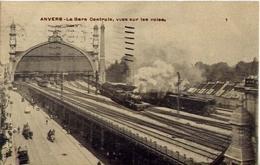 Anvers - La Gare Centrale - Vues Sur Les Voles - Formato Piccolo Viaggiata – Ad - Non Classificati