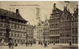 Anvers - Un Coin De La Grand Place - Formato Piccolo Viaggiata – Ad - Belgio