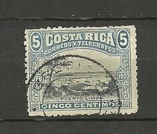 COSTA RICA 1901 Michel 41 O - Costa Rica