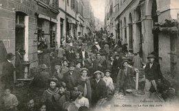 (65)  CPA  Oran  Rue Des Juifs (bon Etat) - Oran
