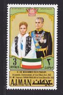 AJMAN AERIENS N°  121 ** MNH Neufs Sans Charnière, TB (D7165) Anniversaire De La Fondation De L'Empire Perse - Ajman