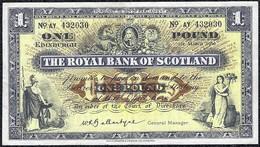 Scotland 1 Pound 1960 *VF* Banknote - [ 3] Scotland