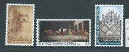 Cyprus 1981 Da Vinci Set 3 MNH - Cyprus (Republic)