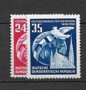 1952 MNH DDR - [6] République Démocratique