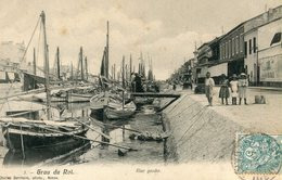 Le Grau Du Roi Rive Gauche Circulee En 1905 - Le Grau-du-Roi