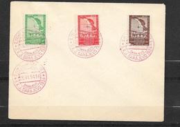 Yougoslavie FDC Premier Jour Sarajevo Le 28/6/1934 N°255 à 257 20ème Anniversaire Da La Société Des Sokols TB - FDC