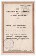 CARDUCCI/ UNIONE GENERALE DEGLI INSEGNANTI PER LA GUERRA NAZIONALE-ALBERGO STELLA D'ITALIA-LEVANTO - LA SPEZIA - La Spezia