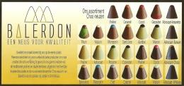 Balerdon Choc-neuzen / Pub Chocolat Chocolade Belgian Chocolats - Chocolade