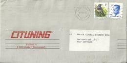 België Belgique 1990 Wilrijk Schilde >> Zottegem / Blauwborst Gorge-bleue Bluetroat / Type Buzin - Passereaux
