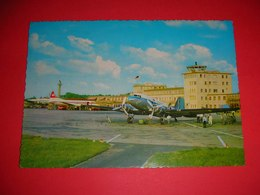 Germany,Dusseldorf,Flughafen,Airport,flugzeug,airplane,air Tower,air Runway,postcard - Aerodrome