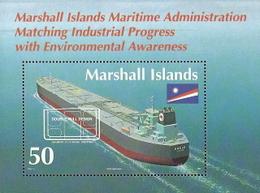 Marshall Islands,  Scott 2015 # 571,  Issued 1993,  S/S Of 1 ,  MNH,  Cat $ 0.85,  Ships - Marshall Islands