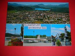 Austria,Klagenfurt,Airport,flugzeug,airplane,air Runway,air Tower,multi Picture,postcard - Aerodrome