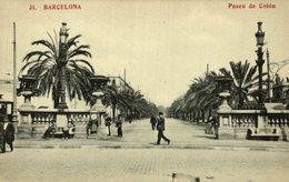 Barcelona  PASEO COLON - Barcelona