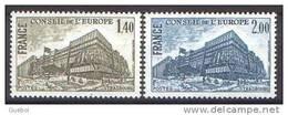 France 1980 CONSEIL EUROPA  2V - France