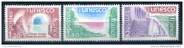 France 1980 UNESCO  3V - France