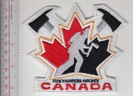 Firefighter Canada Canadian Fire Department National Ice Hockey Team - Firemen