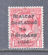 IRELAND  2     (o)   Ovpt.  15- 17 1/2 - 1922 Provisional Government
