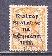 IRELAND  16  Type  II   (o)   Ovpt.  14 1/2 - 16   Feb. 1922 - 1922 Provisional Government