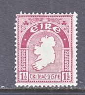 IRELAND  67   *    Wmk.  44   MAP - 1922-37 Irish Free State