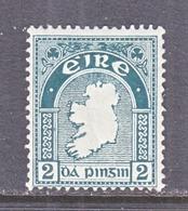IRELAND  68   *    Wmk.  44   MAP - 1922-37 Irish Free State