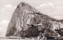 Aéroport De Gibraltar ,dissension Espagne,britannique,vue Du Rocher ,royaume Uni Depuis 1704,carte Photo - Gibilterra