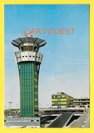 CPSM 75 PARIS ORLY AÉROPORT La Nouvelle Tour De Contrôle 1968 - Aéroports De Paris