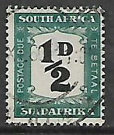 S.Africa 1948, 1/2D Postage Due, Used (thinned On Reverse) - Zuid-Afrika (...-1961)