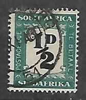 S.Africa 1948, 1/2D Postage Due, Used, Creased NW Corner - Zuid-Afrika (...-1961)