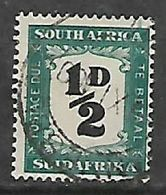S.Africa 1948, 1/2D Postage Due, Used, Small Colour Smudge From Last A Of Africa ^ To Perf - Zuid-Afrika (...-1961)