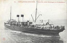 Ferry - Boulogne-sur-Mer - Service Entre Boulogne Et Folkestone - Ferries