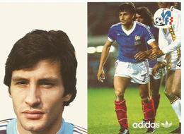 FFF , ADIDAS : EQUIPE DE FRANCE DE FOOTBALL  :SOLER GERARD - Calcio