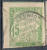 COLONIES GENERALES TAXE N°20  Oblitération De La Réunion - Postage Due