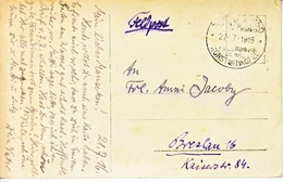 Germany  OFFICE In  TURKEY  MILITARY  MISSION  FELTPOST  Type  II  PPC - Offices: Turkish Empire