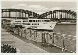 AK  Köln Düsseldorfer Rheindampfschiffahrt Schiff MS France 1966 - Non Classés