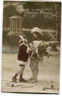 CPA - Carte Postale - Belgique - Fantaisie - Bonne Année - 1916 (CP3081) - Nouvel An