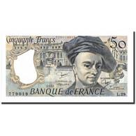 France, 50 Francs, 50 F 1976-1992 ''Quentin De La Tour'', 1982, 1982, NEUF - 50 F 1976-1992 ''Quentin De La Tour''