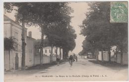 MARANS LA ROUTE DE LA ROCHELLE CHAMP DE FOIRE TBE - Autres Communes