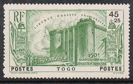 TOGO N°177 N*  REVOLUTION - Togo (1914-1960)
