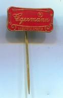 EGERMANN Manufacture - Art Glass, Vintage Pin, Badge, Abzeichen, Enamel - Marques