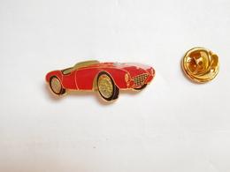Superbe Pin's , Auto Ferrari , Signé BI - Ferrari