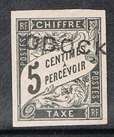 OBOCK TAXE N°9 - Unused Stamps