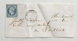 Lettre Partielle , 1865 , ROCHEFORT S MER , Laiteux - 1849-1876: Classic Period