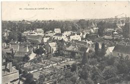 507. PANORAMA DE CANDE . AFFR AU VERSO LE 13-7-1908 . 2 SCANES - France