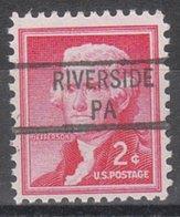 USA Precancel Vorausentwertung Preo, Locals Pennsylvania, Riverside 841 - Vereinigte Staaten