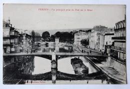 CPA 55 Verdun Pont De La Meuse SINGER Machines à Coudre Belle Carte - Verdun