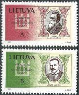 LITAUEN 1993 Mi-Nr. 516/17 ** MNH - Lithuania