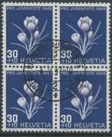 1806 - 30 Rp. Frühlingssafran Mit Zentrumstempel BUREAU DE POSTE AUTOMOBILE -4.V.47 - Pro Juventute