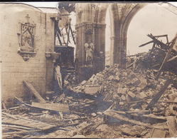 Photo 14-18 SOUAIN (Souain-Perthes-Lès-Hurlus, Près Suippes) - Intérieur De L'église (A191, Ww1, Wk 1) - Autres Communes